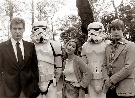 Star-Wars-a-New-Hope-Carrie-Fisher-Mark-Hamill-and-Harrison-Ford