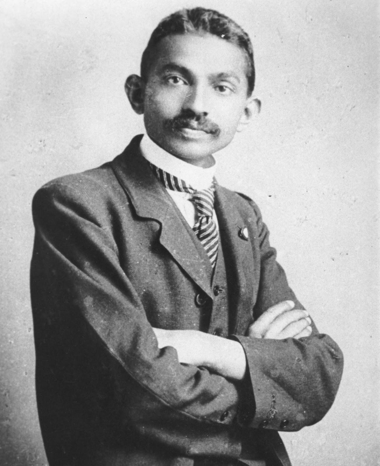 Mohandas-Gandhi