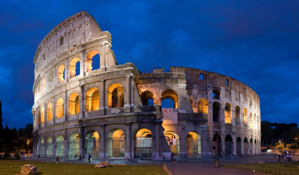 The Colosseum PHOTO: wiki