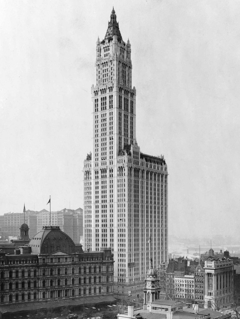 The Woolworth Building PHOTO: WIki