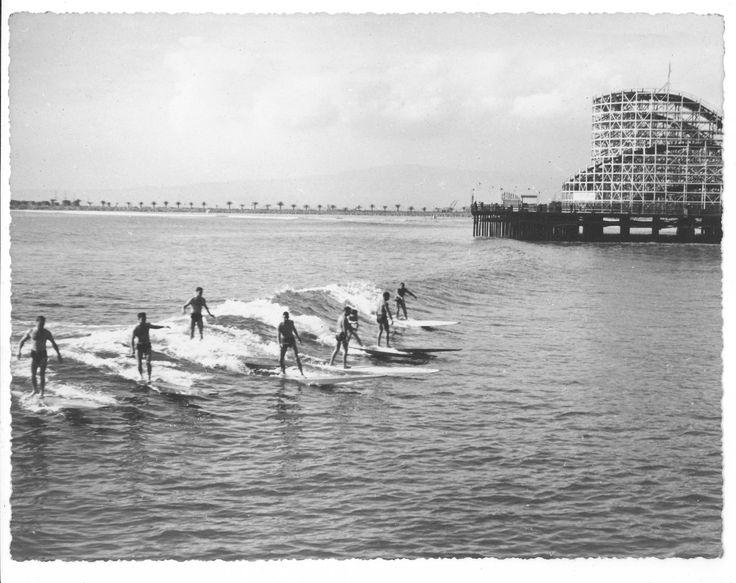Between the piers. December 11, 1938.