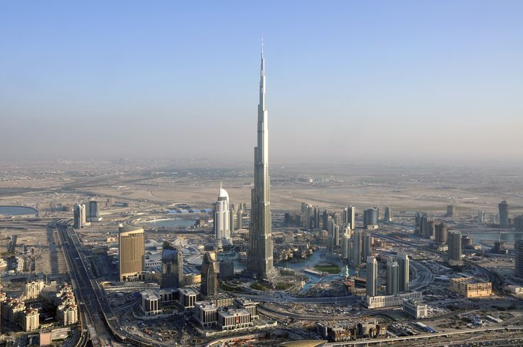 Burj Khalifa PHOTO: Pinterest