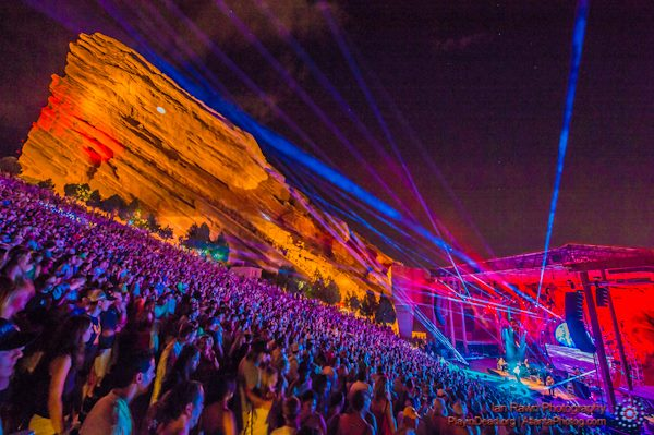 Widespread Panic  6/27/13 @ redrocks PHOTO: PanicStream