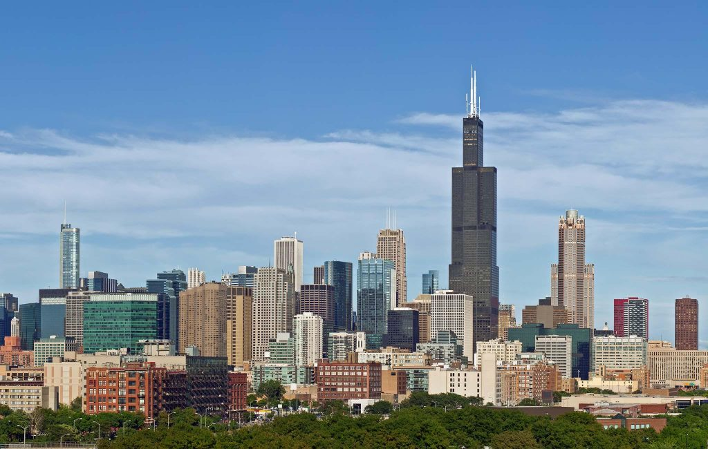 The Willis Tower (formally known as the Sears Tower) PHOTO: ChoiceHotels
