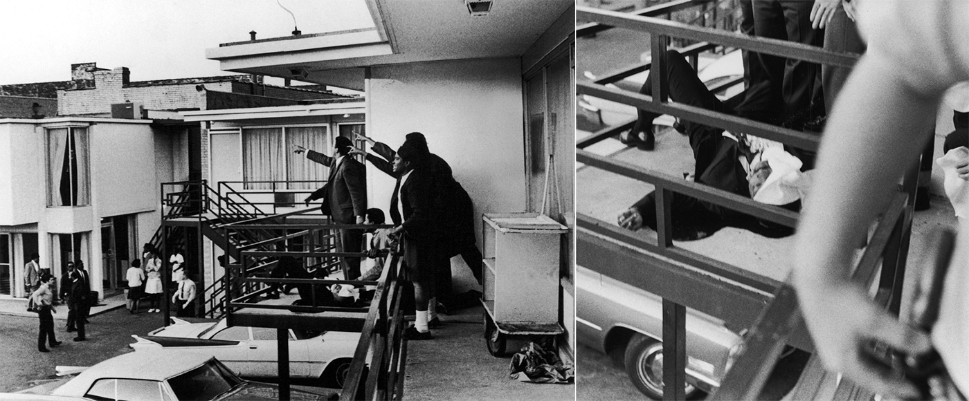 Martin Luther King Hotel Room