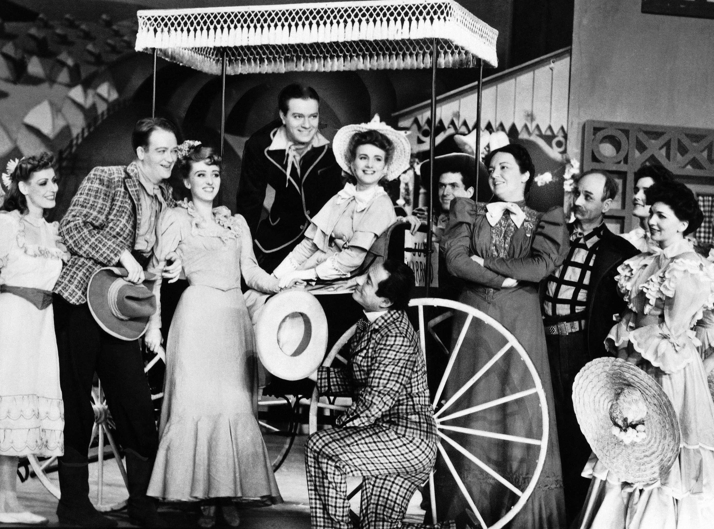Image result for musical oklahoma opens on broadway in 1943