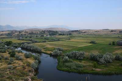The Bear River Massacre Site. PHOTO: westerndigs.com