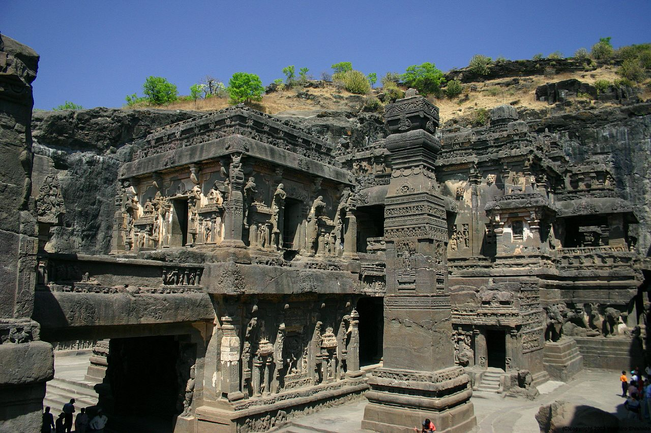 Ellora-Caves-Pictures