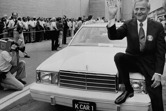 Lee Iacocca Photo: curbsideclassic