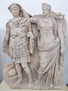 Agrippina the Younger crowns her son, Nero. PHOTO: wikimedia