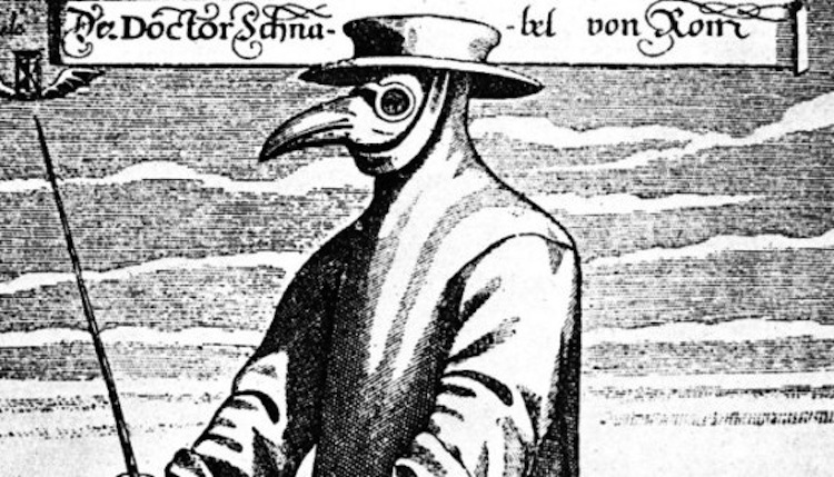 The black death as one of the most severe plague in its time