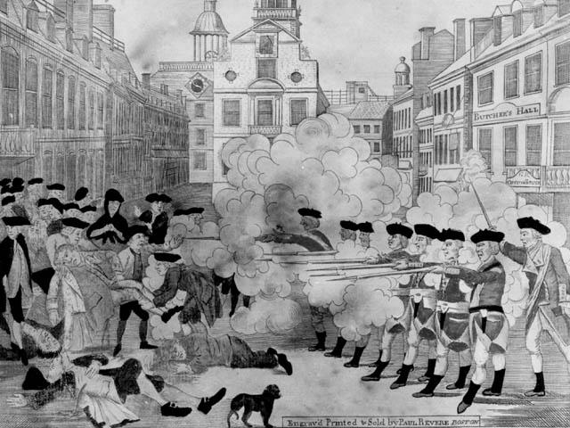The Boston Tea Party a...