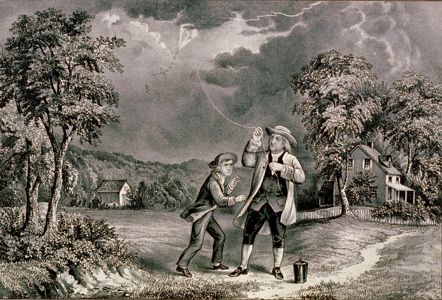 benjamin franklin the kite experiment and Benjamin franklin: inventor, a  the kite experiment benjamin franklin's wildly dangerous kite experiment has grown into an american legend.