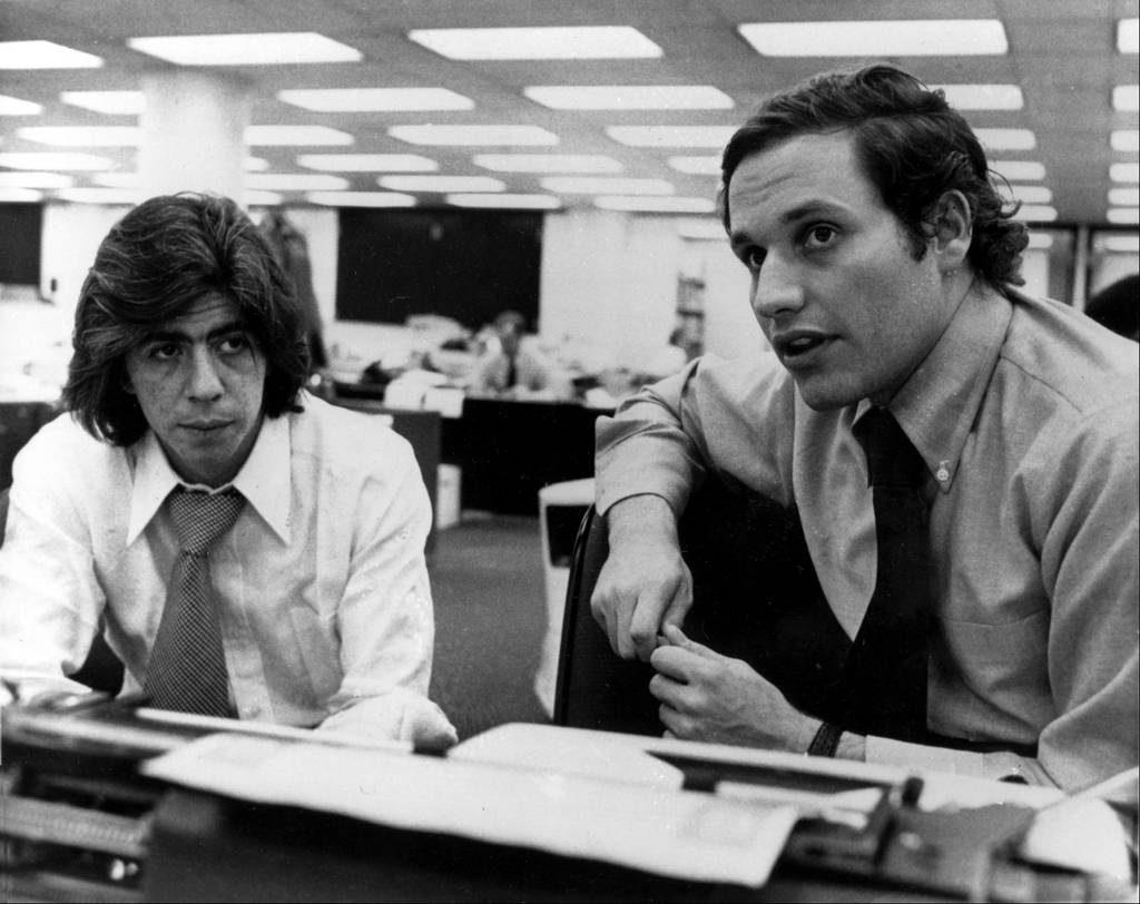 Bob Woodard and Carl Bernstein Photo: reddit
