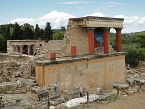 The palace of Knossos [PHOTO: wikimedia]