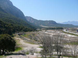 The battlefield at Thermopylae [PHOTO: wikimedia]