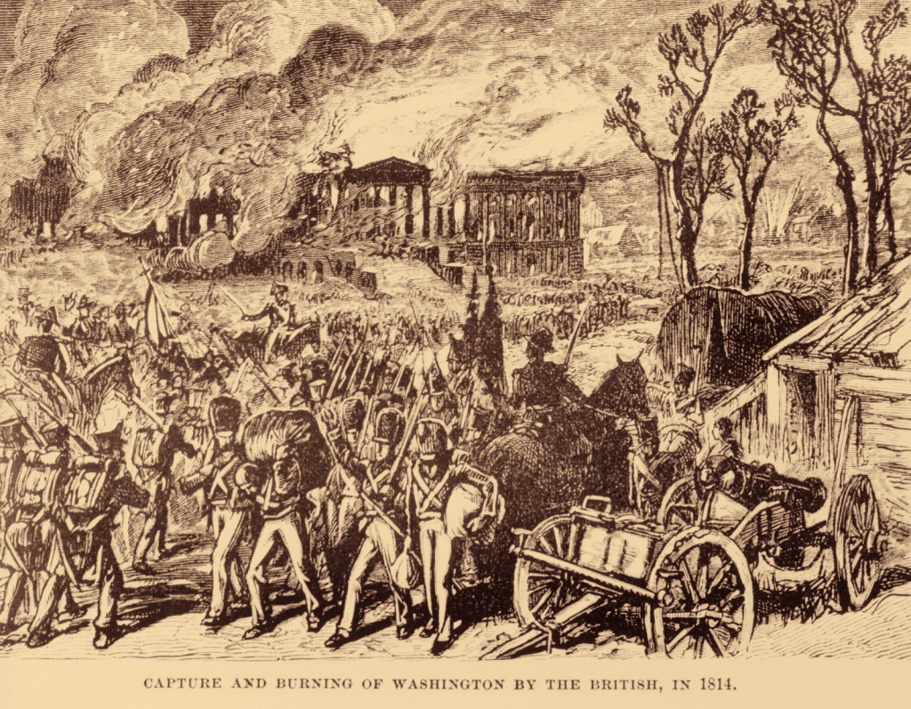 Capture and Burning of Washington