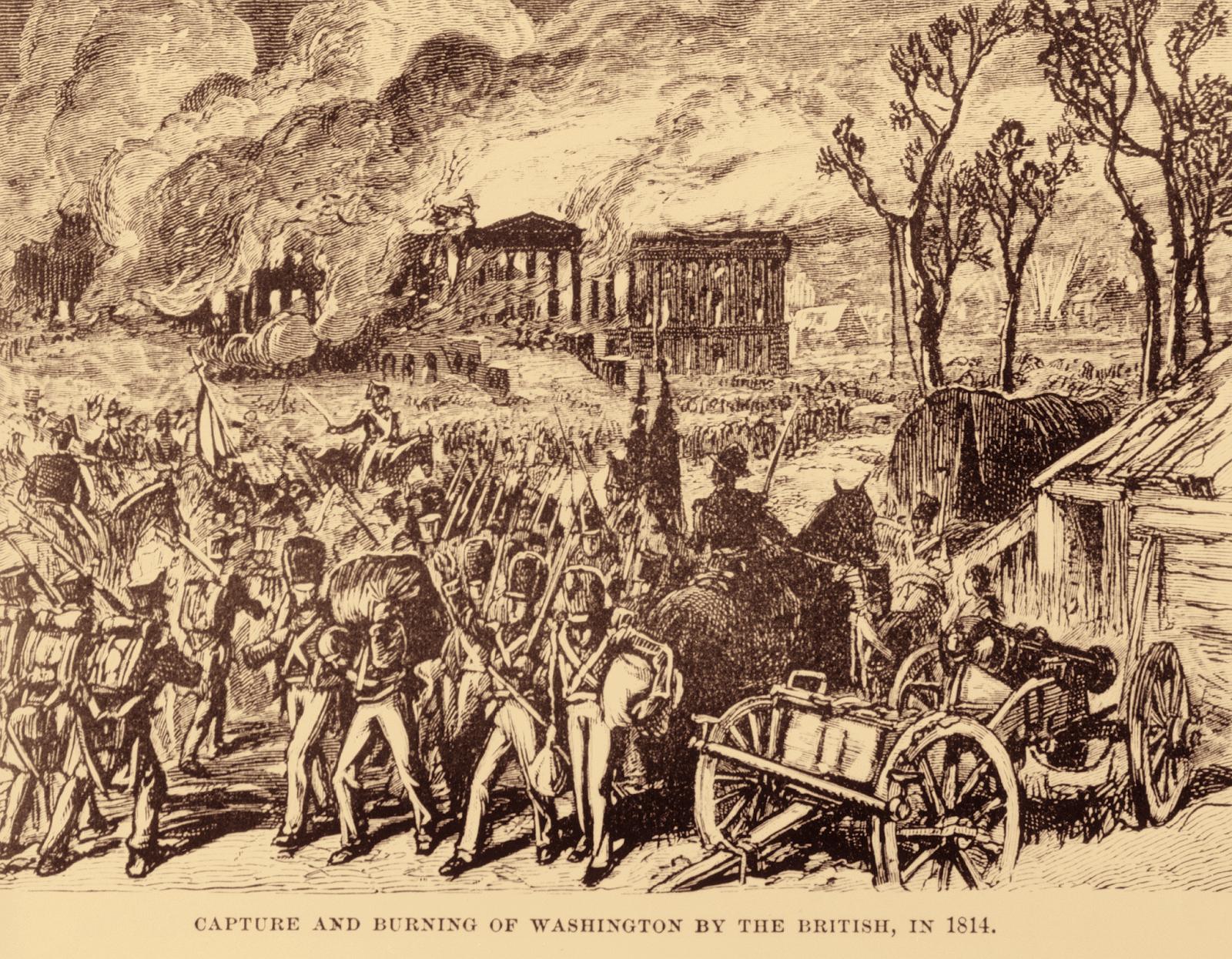 The Disastrous Burning of Washington in 1814