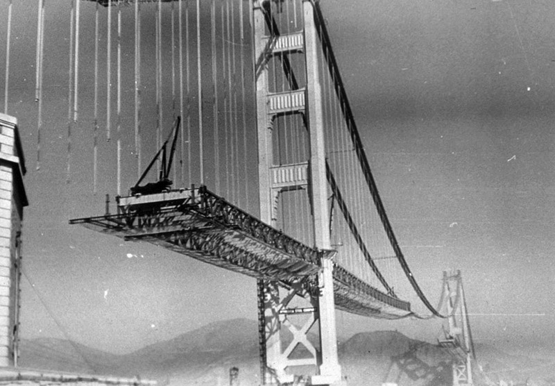 The Construction Of The Remarkable Golden Gate Bridge