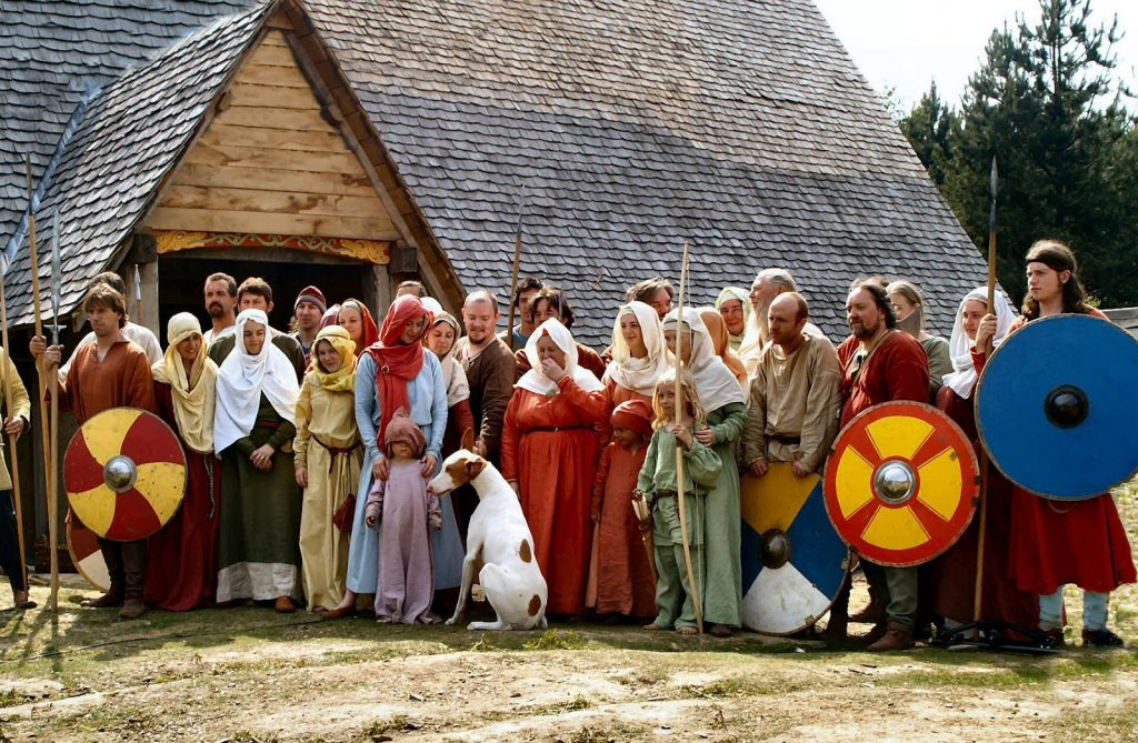 Anglo-Saxon reenactment [PHOTO: brainxpress.com]