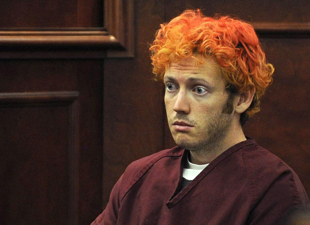 James Holmes at the first trial Photo: newsweek