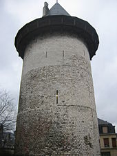 The tower where Joan was held prisoner. [PHOTO: wikimedia]