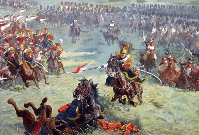 Charge of the 2nd Guard Lancers [PHOTO: wikimedia]