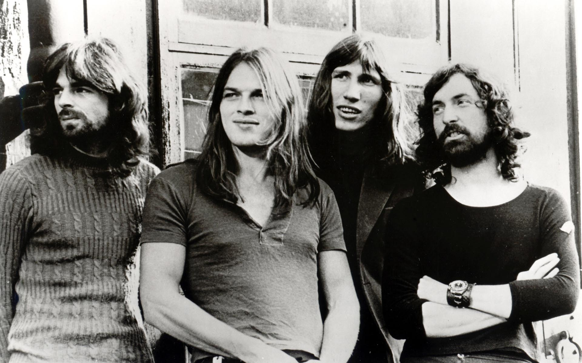 (l-r) Rick Wright, David Gilmour, Roger Waters, Nick Mason Pink Floyd, 1970s This is a PR photo. WENN does not claim any Copyright or License in the attached material. Fees charged by WENN are for WENN's services only, and do not, nor are they intended to, convey to the user any ownership of Copyright or License in the material. By publishing this material, the user expressly agrees to indemnify and to hold WENN harmless from any claims, demands, or causes of action arising out of or connected in any way with user's publication of the material. Supplied by WENN