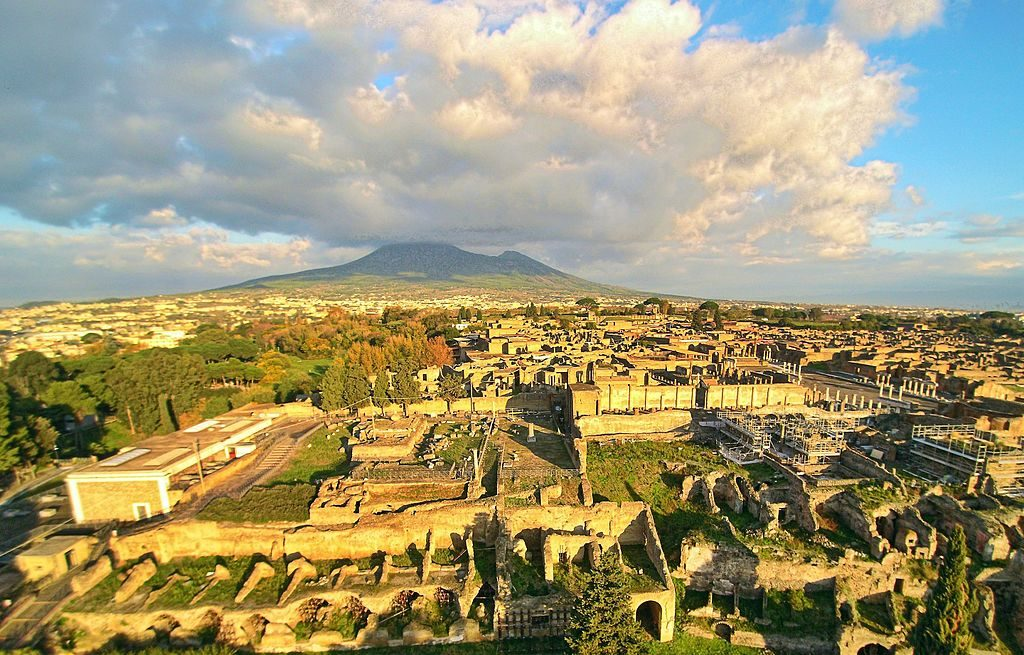 The ruins of Pompeii. [PHOTO: wikimedia]