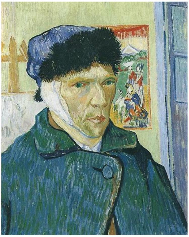 Self-Portrait-with-Bandaged-Ear