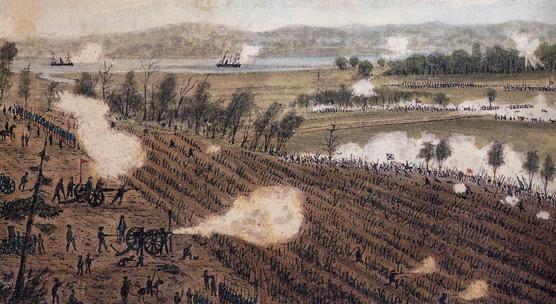 Sneden_watercolor_of_Battle_of_Malvern_Hill