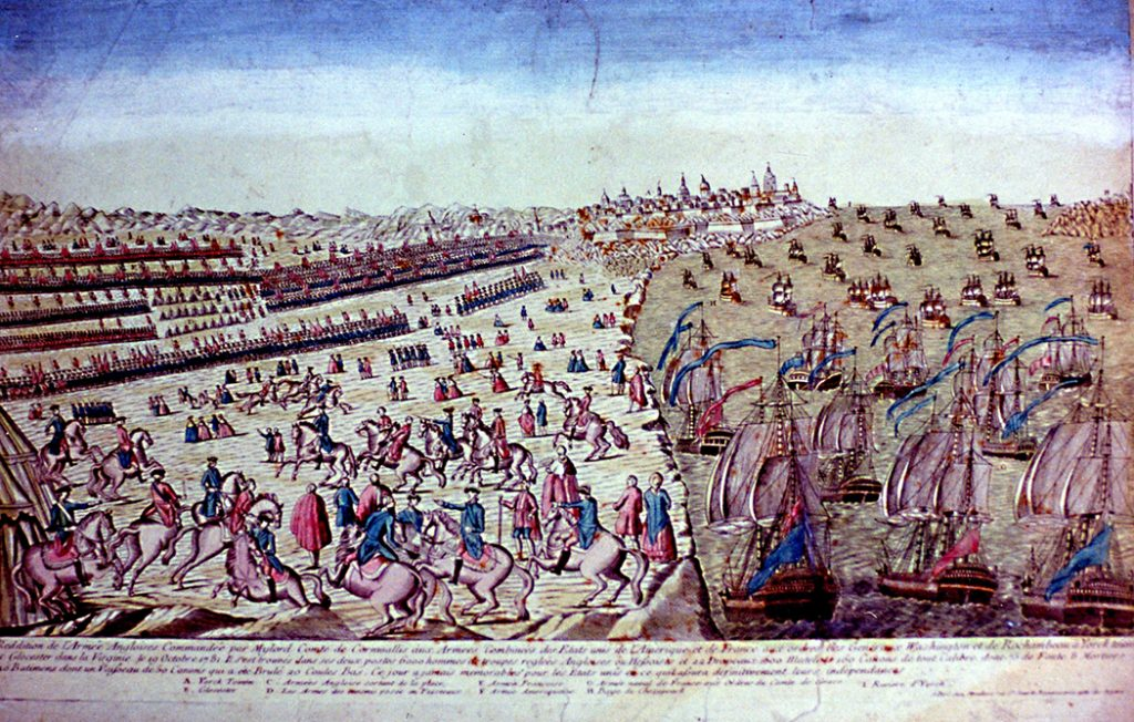 Surrender-at-Yorktown-18th-century-French-engraving-Jamestown-Yorktown-Foundation