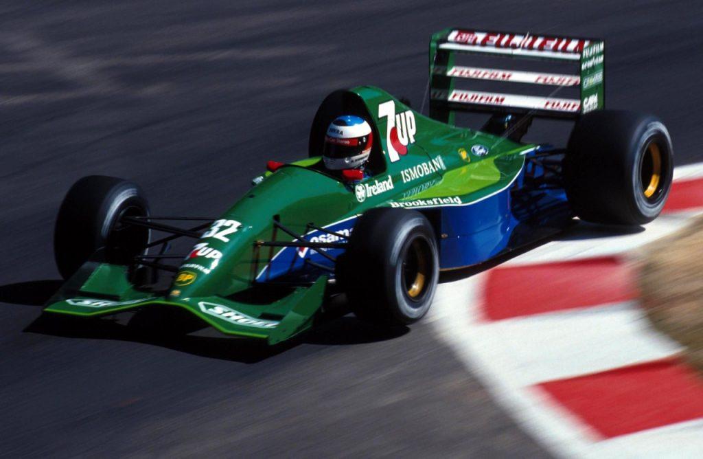 Michael Schumacher at his debut race Photo: formula1