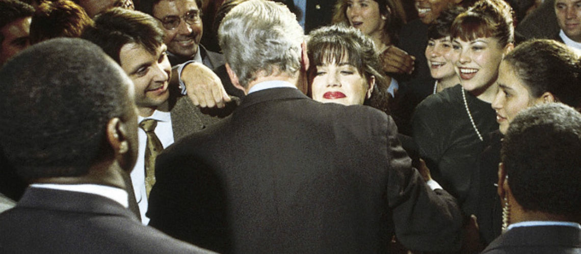 a look at the 1998 presidential sex scandal involving bill clinton Patterson's new book, filthy rich: a powerful billionaire, the sex scandal that undid him, and all the justice that money can buy, is an attempt to answer such questions co-authored with.
