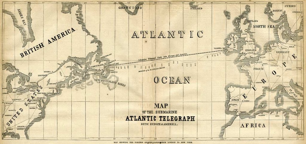 Photo: Atlantic-cable