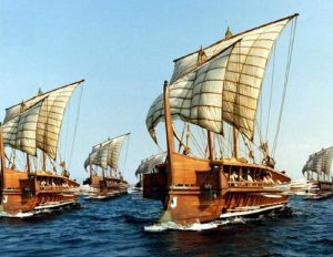 Greek Trireme [PHOTO: wikimedia]