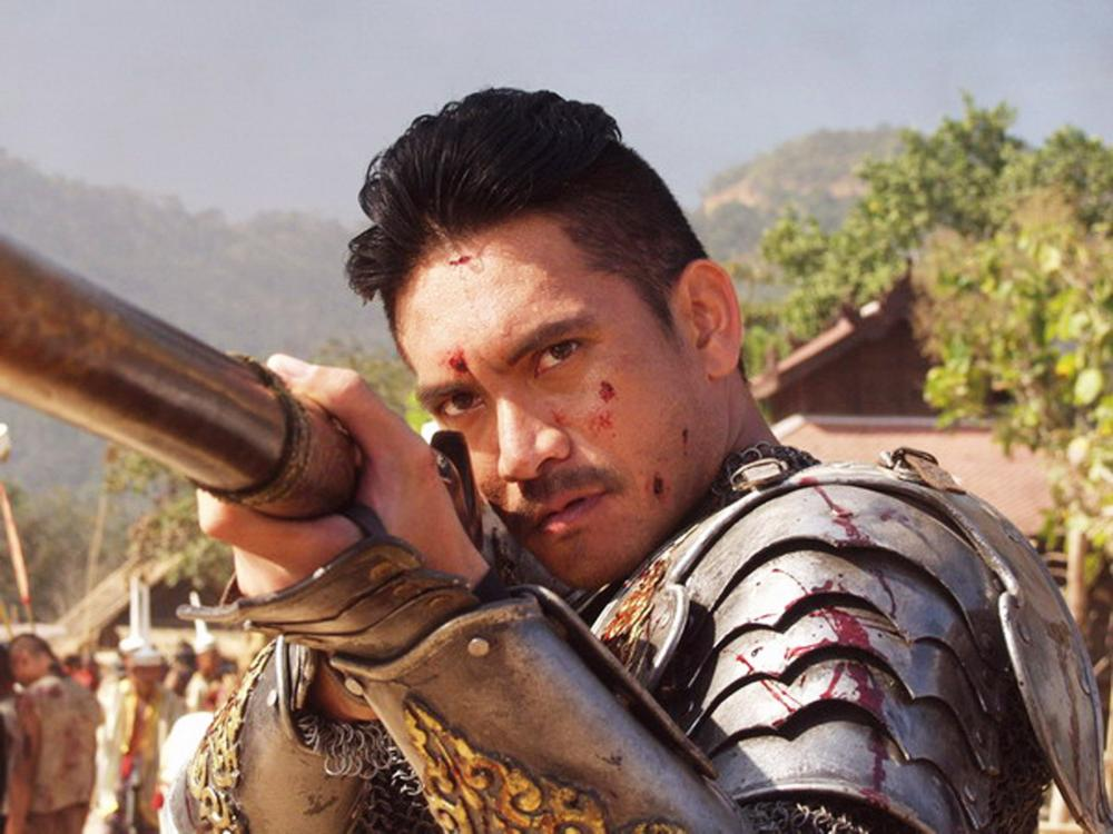 Wanchana Sawatdee as King Naresuan in film The Legend of Naresuan. [PHOTO: cineplex,media.com]