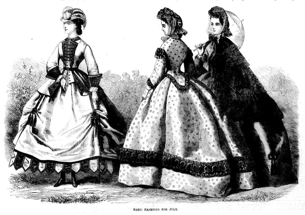 1860s fahsion
