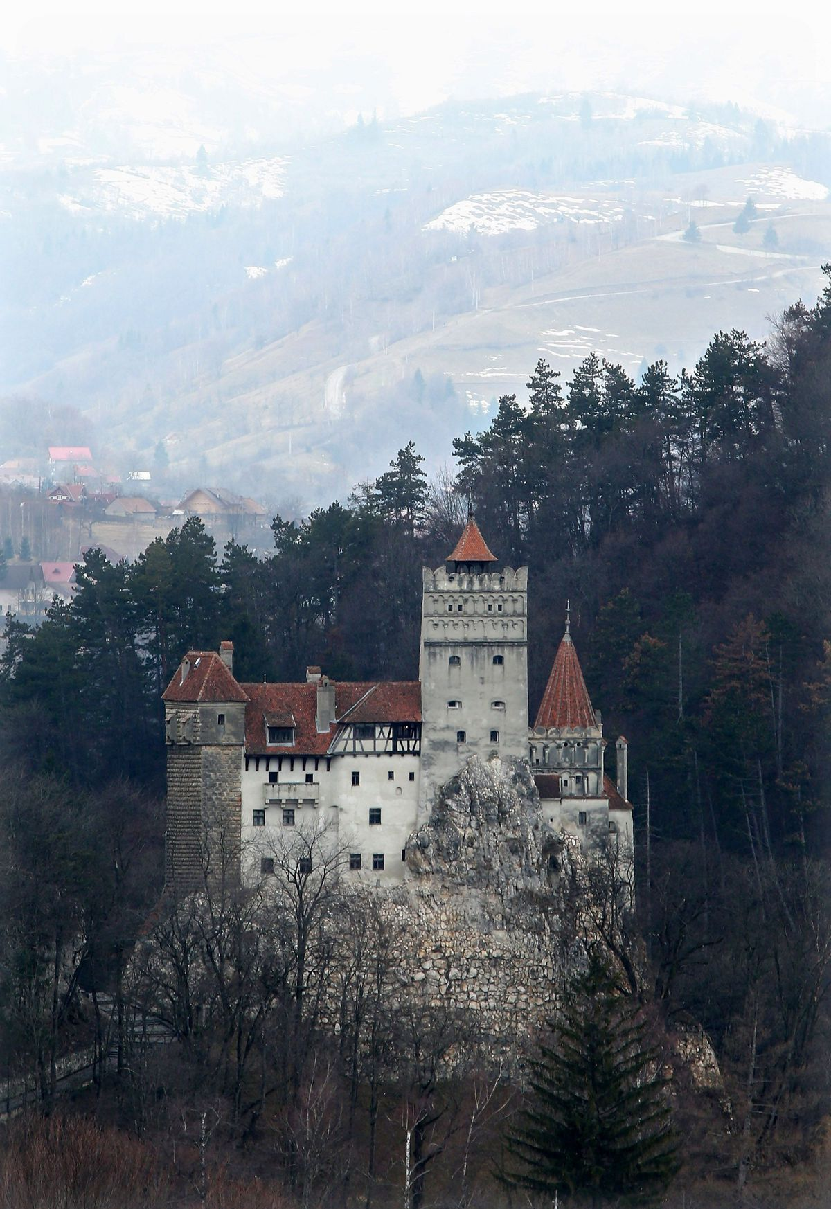 Bran Castle Photo: mashable