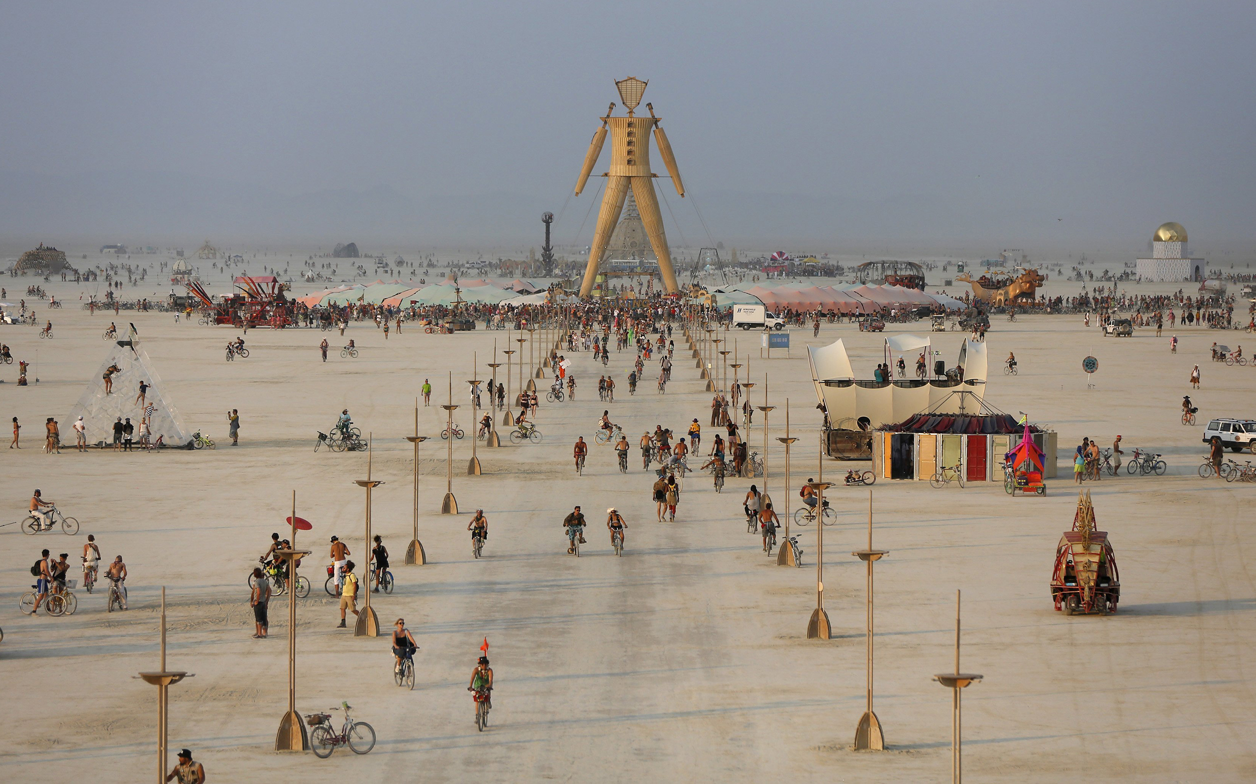 The Effigy at the 2014 Burning Man Photo: nbc