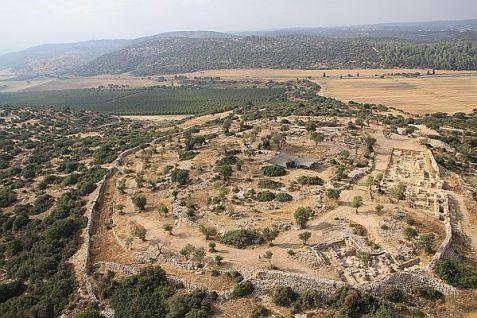 Khirbet Qeiyafa [PHOTO: Jewish Press]