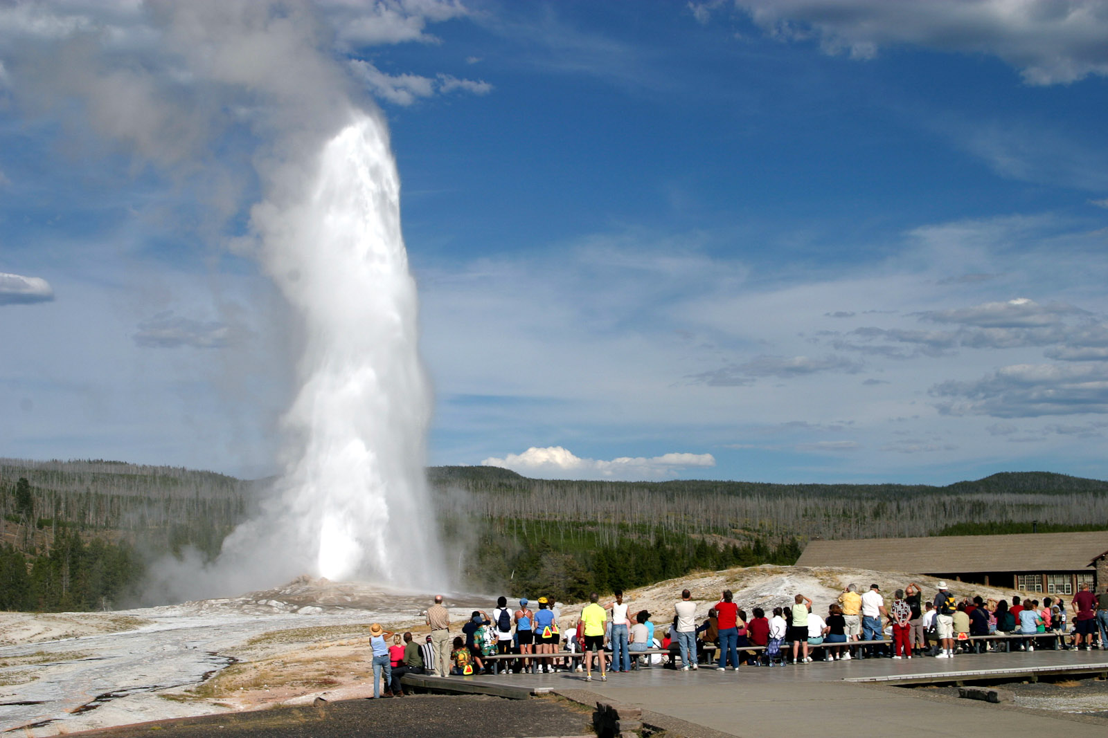 Old Faithful Photo: wiki