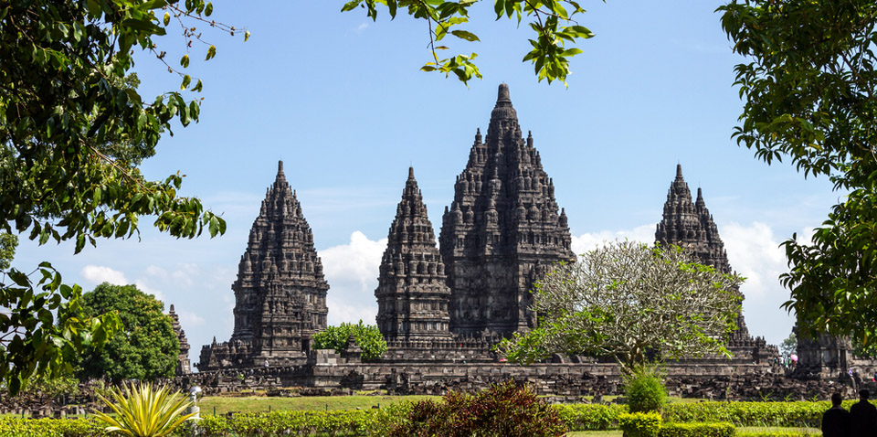 Candi Prambanan Hindu temple compound in Central Java Photo: dodaholiday