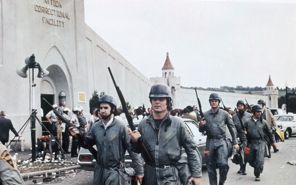 Image result for the end of the attica prison uprising