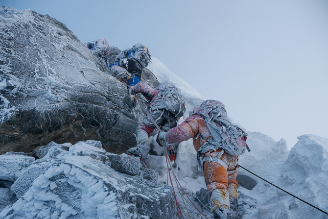 Another angle of the Hillary Step. Photo: nationalgeographic