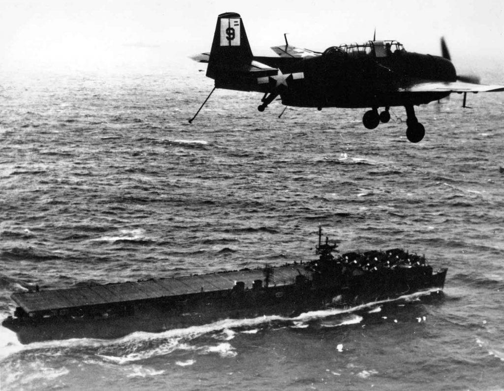 San Jacinto aircraft carrier Photo: ww2today