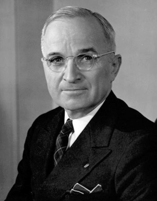 President Truman  Photo:  encyclopedia