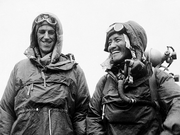 Edmund Hillary (left), Tenzing Norgay (right) Photo: nationalgeographic