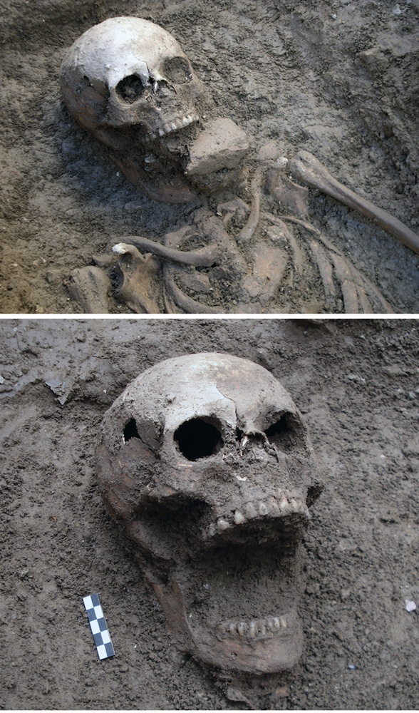 Another suspected Vampire grave. [PHOTO: livescience]