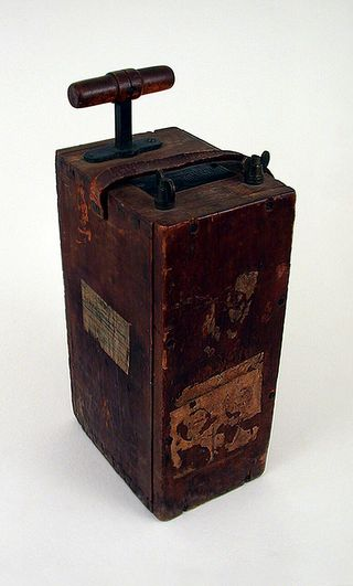 The detonoator used by the men is curretly on display at the Postal Museum Photo: postalmuseum